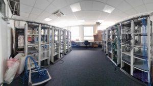 Bild des neuen Server-Raums
